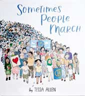 Sometimes People March Cover