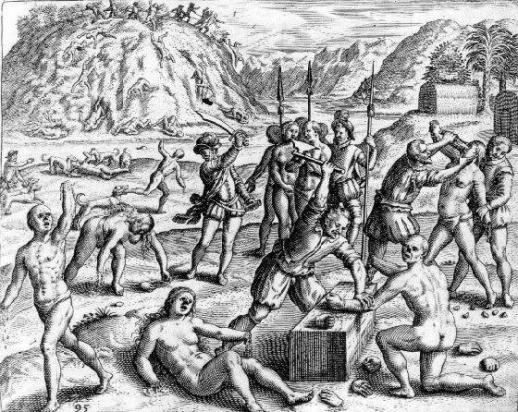European invaders called Native and Kidnapped Africans Prisoners .. Savages while simultaneously being Savage.