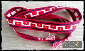 Bandeau grec en laine tissée