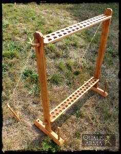 Ratelier d'arme en bois