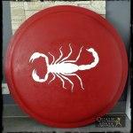 Bouclier grec au scorpion