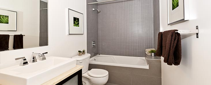 installation sanitaires et salle de