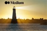 Beacon with Medium Logo