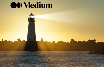 Beacon with Medium Logo