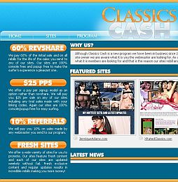 Classics Cash Adult Affiliate Program