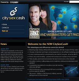 CitySexCash Adult Affiliate Program