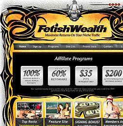 Fetish Wealth Adult Affiliate Program