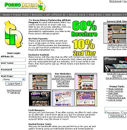 Porno Dinero Adult Affiliate Program