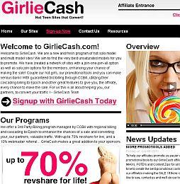 GirlieCash Adult Affiliate Program
