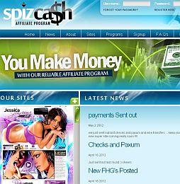 SpizCash Adult Affiliate Program