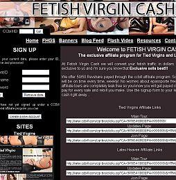 Fetish Virgin Cash Adult Affiliate Program