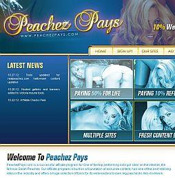 PeachezPays Adult Affiliate Program