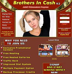 Brothers In Cash Adult Affiliate Program