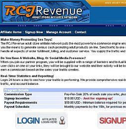 RCJRevenue Adult Affiliate Program
