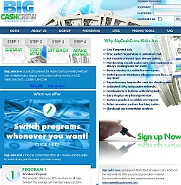 BigCashCrew Adult Affiliate Program