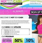 Hot Teen Cash Adult Affiliate Program