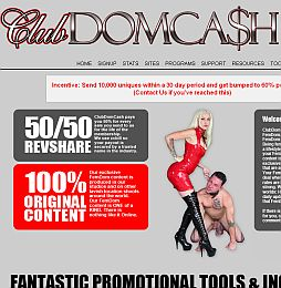 ClubDomCash Adult Affiliate Program