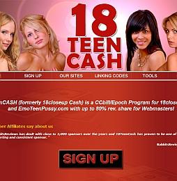 18TeenCASH Adult Affiliate Program