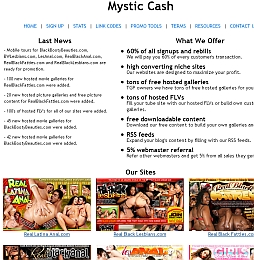 Mystic Cash Adult Affiliate Program