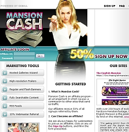 Mansion Cash Adult Affiliate Program