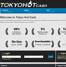 TokyoHotCash Adult Affiliate Program Review