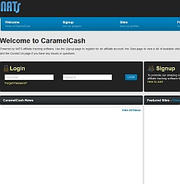 CaramelCash Adult Affiliate Program