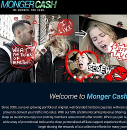 MongerCash Adult Affiliate Program