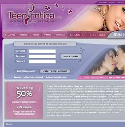 Teenrotica Adult Affiliate Program