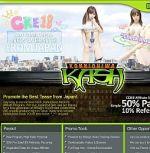 Konnichiwa Kash Adult Affiliate Program