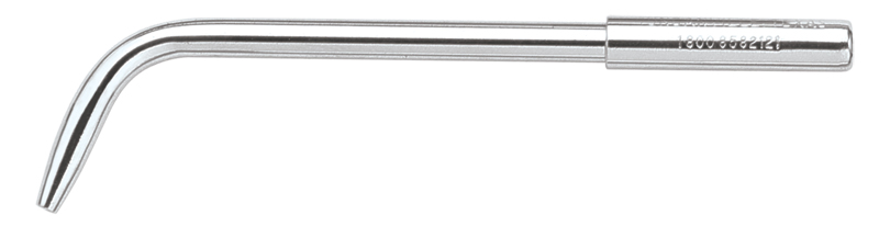 Surgical aspirator for use with low volume cut off valve (Saliva Ejector Valve). Total length = 4 1/4
