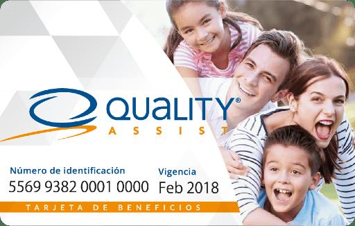 Tarjeta de descuentos y beneficios - Quality Assist