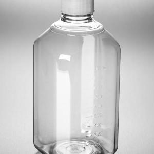 Corning PET Media Bottle, 1000 mL, Graduated
