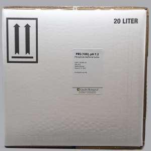PBS (10X), pH 7.2, 20L