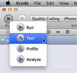 Xcode unit testing is now fully integrated into the UI!