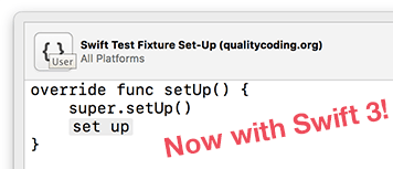 Swift test snippets