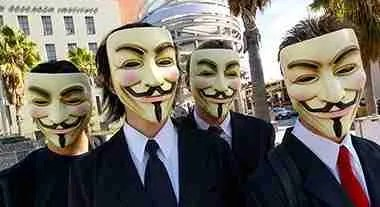 """""""Anonymous"""" masks"""