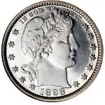 Barber Quarter, Silver Quarter, Silver Coins, Buy Silver, Sell Silver, Tampa, New Port Richey, Florida, qualitycoinandgold.com
