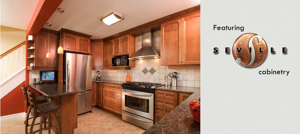 Quality Craftsman Kitchens offers Seville cabinetry
