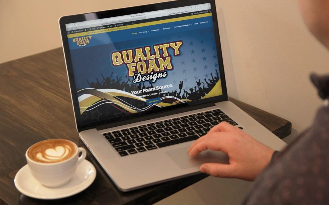 Quality Foam Designs Website
