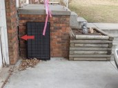 Quality Foundation Repair - Note the separation between the home