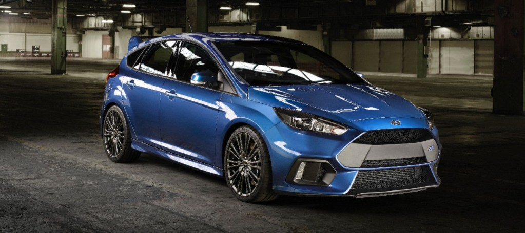 ALL-NEW FORD FOCUS RS; HIGH-PERFORMANCE HATCH WITH INNOVATIVE ALL-WHEEL DRIVE SET FOR U.S. DEBUT