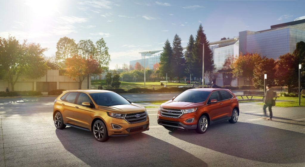 ALL-NEW 2015 EDGE SHOWCASES FORD'S BEST TECHNOLOGY, MORE DRIVER-ASSIST FEATURES, IMPROVED PERFORMANCE, CRAFTSMANSHIP
