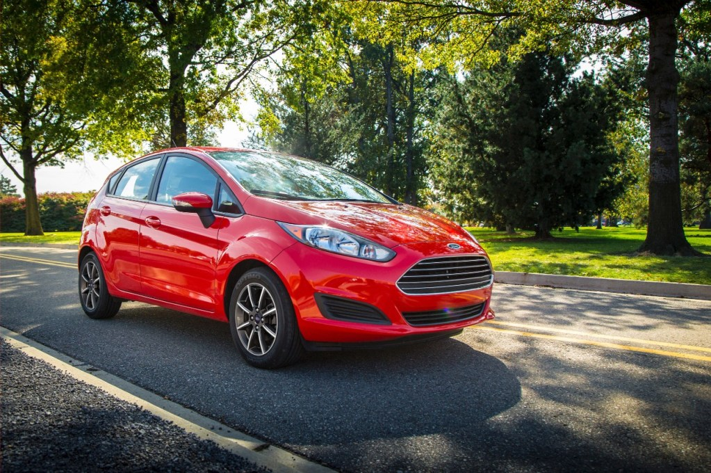 FORD FIESTA NAMED TO KBB.COM'S 2015 LIST OF 10 COOLEST CARS UNDER $18,000