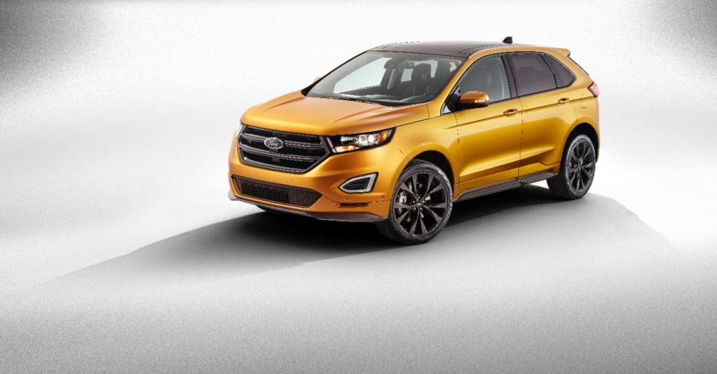 2015 FORD EDGE EARNS TOP GOVERNMENT SAFETY AWARD