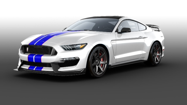 CUSTOM 2016 SHELBY GT350R MUSTANG TO BE AUCTIONED AT CATTLE BARON'S BALL IN AID OF AMERICAN CANCER SOCIETY