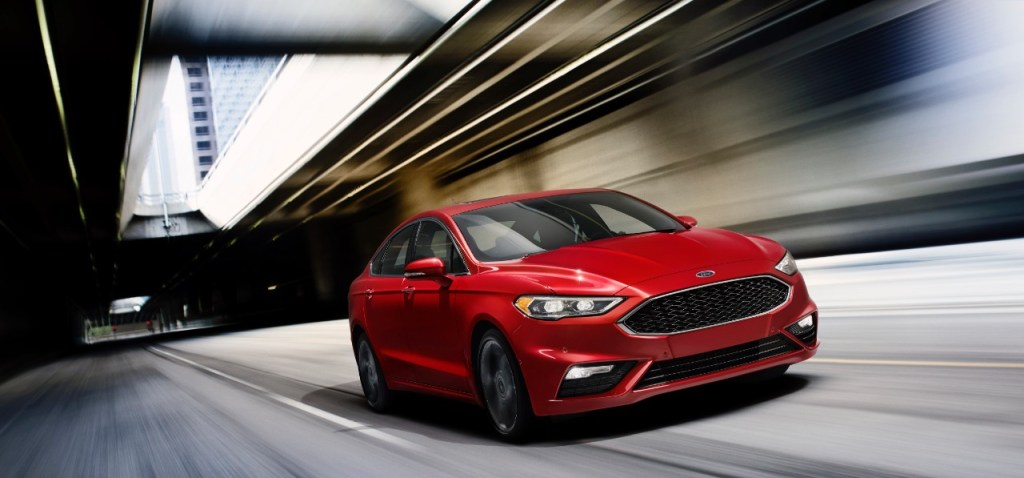 New Ford Fusion V6 Sport Skips Over Potholes