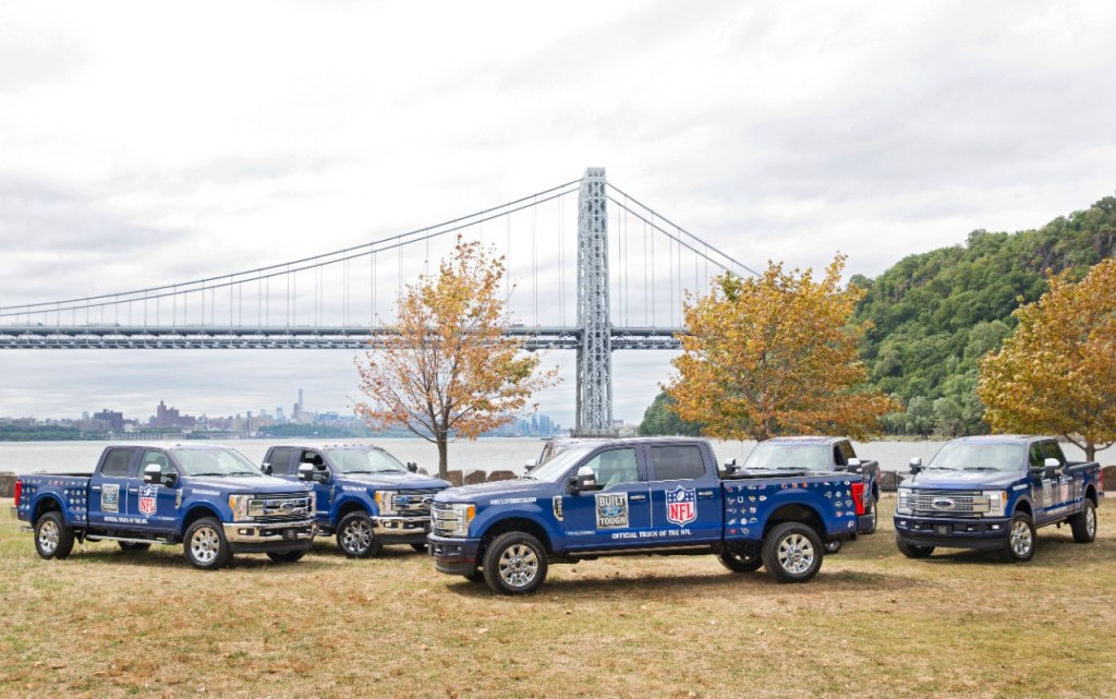 You Can Now Uber a Ford F-150 to Tailgate at NFL Games