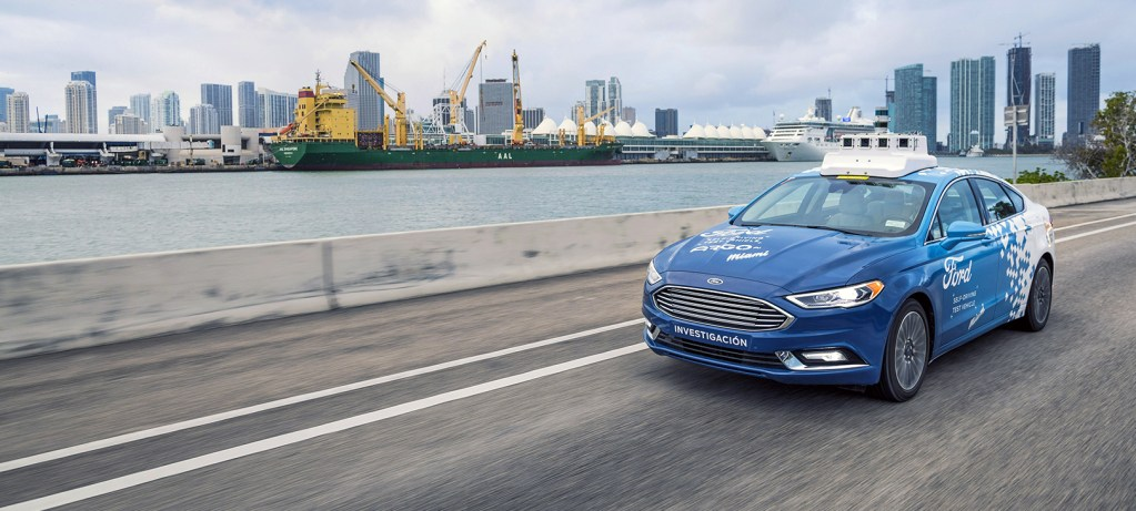 The Autonomous Future of Ford