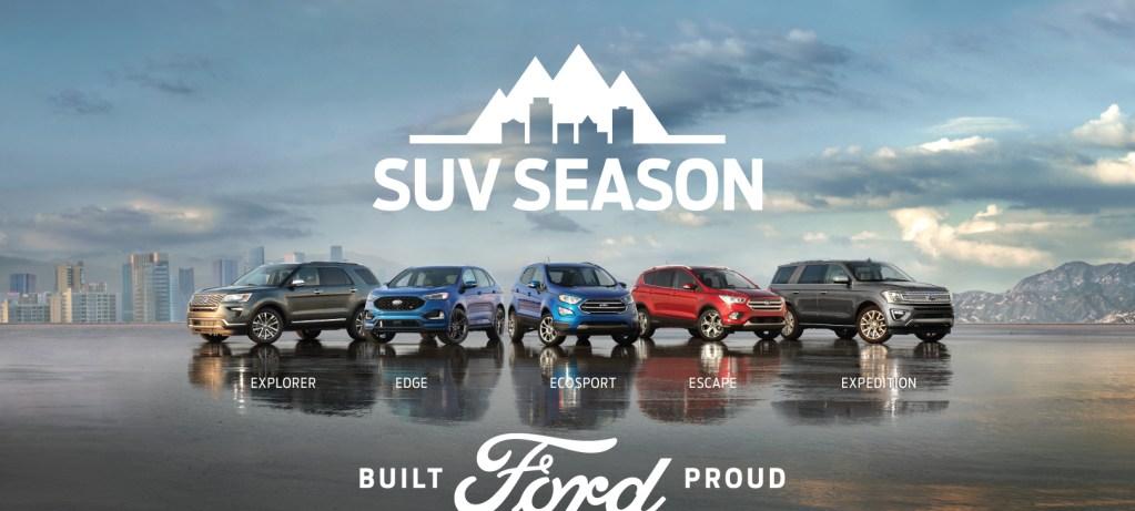 SUV Season Is Here!