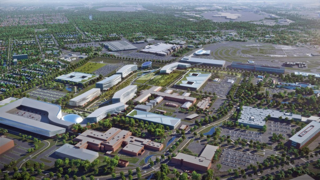 Big Changes on the Way for Ford's Corporate Campus